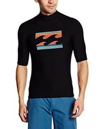 G.S.M. Europe - Billabong Herren Rashguard SUPERWAVE, Black, XL, W4MY04 BIP6  19
