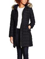 Hilfiger Denim Damen Mantel DW0DW00511, Schwarz (Tommy Black 078), 36 (Herstellergröße: S)
