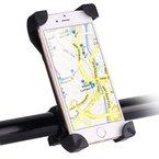 """[Super Sicher] Awnic Smartphone Fahrradhalterung Handyhalterung für Fahrrad Super-Fest mit 4 Eck-Klammern Anti- Rutsch Universal für Handys von 3,5 '' bis 6,5"""" iPhone 6s Plus / 6s Samsung Galaxy S5/S4/S3 usw"""