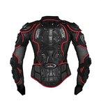 Motorrad Motocross Biker Schwarz Skating Skifahren K?rper Armour Spine Schutz-Schutz-ATV Reit Protektoren-Jacke
