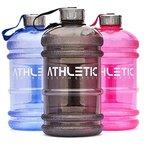 Water Jug - Sport Trinkflasche - Waterjug - Wasserflasche - Gym Bottle - Trainingsflasche - Water Bottle - Fitness Bottle - Wasser Kanister 2.2 Liter - Trinkflasche - ATHLETIC AESTHETICS - Blau