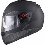 Black Optimus SV Motorrad Roller Klapphelm XL Matt Black