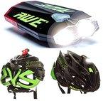 AWE® AWEDual 360°TM USB Wiederaufladbare Fahrrad Twin Helm Licht vorne / hinten 40 Lumen