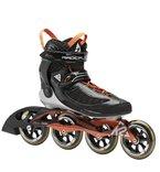 K2 Herren Inline Skate RADICAL 100 M, Schwarz/Orange/Silber, 9.5, 3040004.1.1.095