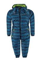 Kanz Jungen Sportswear-Set Schneeanzug m. abnehmbarer Kapuze 1, Gr. 110, Blau (seaport 3127)