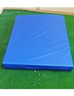 KosiPad® Wasserdichte, hochwertige, mit erhöhter Dichte, Schaumstoff- Turnmatte, Bodenmatte, Weichbodenmatte für Fitnessstudio, Sicherheit im Kinderzimmer für eine weiche Landung. In 3 Größen und 7 Farben erhältlich (Blue, Medium)