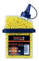 GSG Softair BBs HFC 0.12 g Kal. 6 mm 2.000 Stück gelb, 200037
