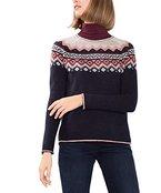 ESPRIT Damen Pullover 106EE1I004, Blau (Navy 5 404), 38 (Herstellergröße: M)