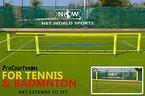 ProCourt Mini Tennis-/Badmintonset [Net World Sports] (Tennis-/Badminton Set 3m)