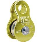 Seilrolle Mobile Pulley Helios von Alpidex Umlenkrolle, Farbe:green