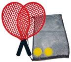 Schildkröt Funsports Soft Tennis Set Beach in Tasche, Rot, 40 cm, 970130