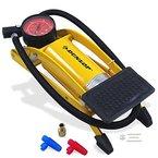 Dunlop Luftpumpe Fußpumpe Fahrradpumpe Autopumpe Manometer Profi Pumpe