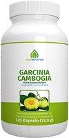 Green Nutrition - Garcinia Cambogia - Hochdosiert - Vegan - Vegetarisch - Laktosefrei - Glutenfrei - Aspartamfrei - Genfrei - 120 Kapseln
