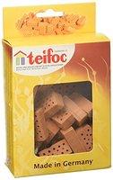 Eichsfelder Technik eitech Gmb TEI906601 - Teifoc Backstein, Konstruktionsspielzeug, rot