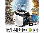 StillCool Wireless 360 Grad Panorama Mini Kamera 3D VR Action Sport Kamera Wifi 16MP 4K HD 30fps Wasserdicht 230 ° groß Objektiv Mini DV Player