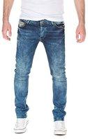 Yazubi Herren Jeans Darren Slim Fit , blue used (2202), W33/L34