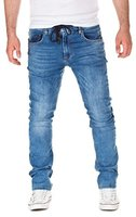 Yazubi Herren Sweathose in Jeansoptik Erik, light blue (30032), W31/L34