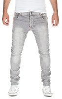 Yazubi Herren Sweat Jeans Slim Fit, light grey (10063), W33/L34