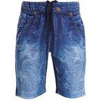 Jungen Kinder Cargo Hose Bermuda Shorts Capri Vintage Sport Kurze Strech 20319, Farbe:Dunkelblau;Größe:128