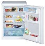 Beko TSE 1423 Tischkühlschrank / A++ / 92 kWh/Jahr / Kühlen: 130 L / Weiß / Unterbaufähig- Abnehmbare Arbeitsplatte / Große Gemüseschale