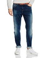 s.Oliver Herren Loose Fit Jeans Hose Relaxed, Blau (Blue Denim Stretch 55z4), W33/L32