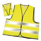4er Warnwesten-Set in gelb nach DIN EN 471 (EN ISO 20471) zertifiziert