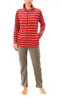 Damen Hausanzug Homewear Nicky Velvet - 57669, Größe:44/46;Farbe:rot