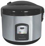 Reiskocher 1,5 Liter Multikocher Dampfgarer Edelstahl Schnellkochtopf Reis Kochtopf