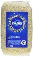 Davert Jasmin Reis weiß, 4er Pack  (4 x  500 g) - Bio