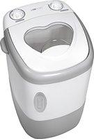 Clatronic MWA 3540 Miniwaschmaschine TL / 1,5 kg / 15 Minuten-Timer / weiß-grau