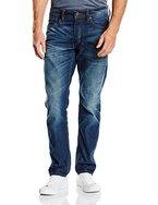 JACK & JONES Herren Straight Leg Jeanshose Jjmike Jjoriginal Ge 201 Noos, Gr. W33/L32 (Herstellergröße: 33), Blau (Blue Denim)