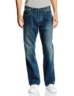 Dickies Herren Relaxed Jeanshose Pensacola, Gr. W36/L32, Blau (ANTIQUE Wash AW)