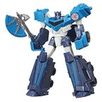 Hasbro Transformers B4685ES0 - Robots in disguise Warr Blzzrd Strike Optimus Prime, Actionfigur