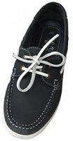 Beverly Originals Herren Leder Bootsschuh Men's Casual Skipper, Größe:44, Farbe:marine