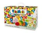 PlayMais 160063 - PlayMais Bastelset Fun to Learn, Farben und Formen