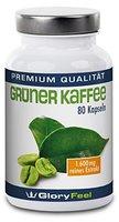 Der neue TESTSIEGER* Grüner Kaffee 2016 vergleich.org: Grüner Kaffee Kapseln - Hochdosiertes Grüner Kaffee Extrakt + Vitamin C - 1.600 mg Green Coffee Pulver pro Tagesdosis - Natürlich und Rein