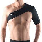 Pellor Verstellbare Schulterbandage Schwarz Links und Rechts (Schwarz-Links)
