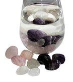 Naturgeister®-Wassersteine ~150g Trommelsteine für Edelsteinwasser (3 er Sortiment B-A-R) (~EUR 6,53 / 100g)