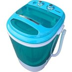 Syntrox Germany A+ 3,8 Kg Waschmaschine mit Schleuder Campingwaschmaschine Mini Waschmaschine