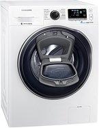 Samsung WW80K6404QW/EG Waschmaschine FL / A+++ / 116 kWh / Jahr / 1400 UpM / 8 kg / Add Wash / WiFi Smart Control / Super Speed Wash / Digital Inverter Motor / weiß