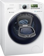 Samsung WW12K8402OW/ EG Waschmaschine FL / A+++ / 141 kWh / Jahr / 1400 UpM / 12 kg / Add Wash / WiFi Smart Control / Super Speed Wash / Digital Inverter Motor / weiß