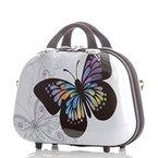 Kosmetikkoffer 2060 Hartschalen Beautycase Butterfly