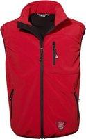 Softshell-Weste Windbreaker Herren von Fifty Five - Sheerbroke rot XL - mit FIVE-TEX Membrane für hochwertige Outdoor-Bekleidung