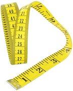Da.Wa Tape Measure Gelb Craft Tailor Flexible Maßband Nähen Maßbänder,300cm (118 Inch)