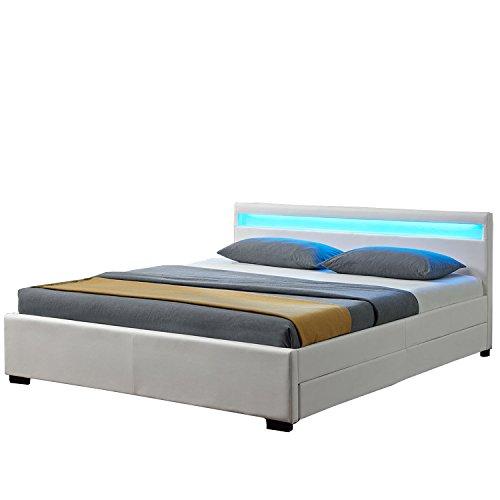 polsterbetten mit bettkasten vergleich 2018. Black Bedroom Furniture Sets. Home Design Ideas