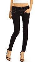 Bestyledberlin Damen Skinny Jeans, Slim Fit Röhrenjeans, enge Hüftjeans, Baumwoll Hosen j39f 36/S