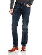 Tommy Hilfiger Herren Straight Leg Jeanshose DENTON BSTRETCH, Gr. W34/L34, Blau (VINTAGE BLUE-EUR 299)