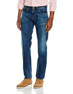 Hilfiger Denim Herren Jeanshose Original Straight Ryan Psb, Bleu (Persian Blue Rigid), 32W / 34L