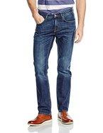Tommy Hilfiger Herren Straight Leg Jeanshose MERCER, Gr. W33/L32, Blau (ARMADA INDIGO 905)