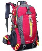 Tibes Durable Oxford Rucksack Klettern Rucksack Wandertasche für Männer / Frauen Rosa